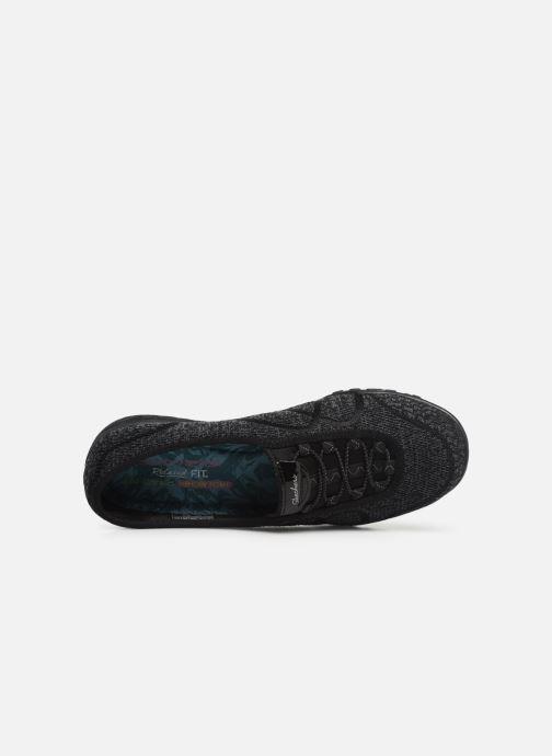 Sneakers Skechers Breathe-Easy Sweet-Jam Svart bild från vänster sidan