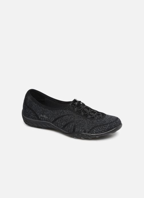 Sneakers Skechers Breathe-Easy Sweet-Jam Zwart detail