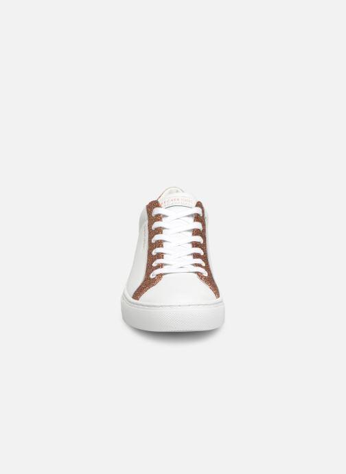 Sneakers Skechers Side Street Glitz Kickz Vit bild av skorna på
