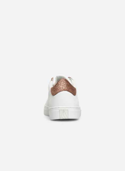 Trainers Skechers Side Street Glitz Kickz White view from the right