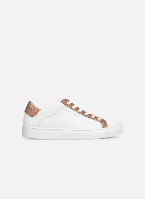 Trainers Skechers Side Street Glitz Kickz White back view