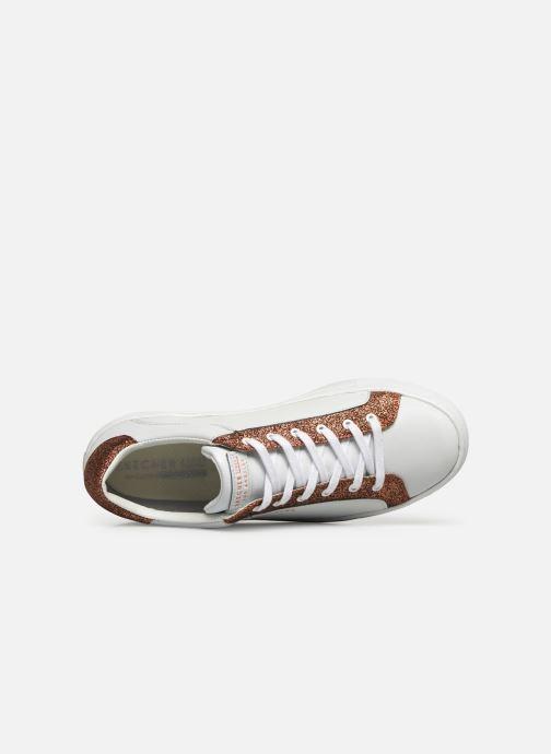 Sneakers Skechers Side Street Glitz Kickz Vit bild från vänster sidan