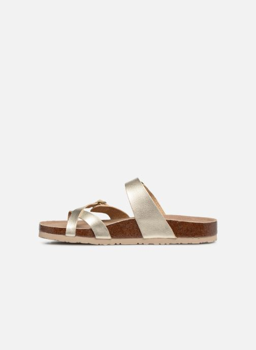 Sandales et nu-pieds Skechers Granola Hippie Sole Or et bronze vue face