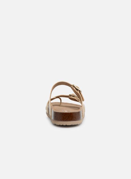 Sandaler Skechers Granola Hippie Sole Guld og bronze Se fra højre