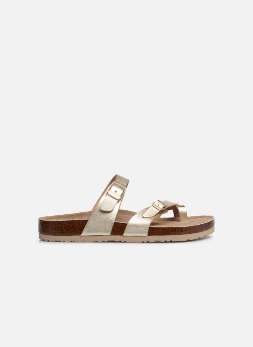 Sandales et nu-pieds Skechers Granola Hippie Sole Or et bronze vue derrière