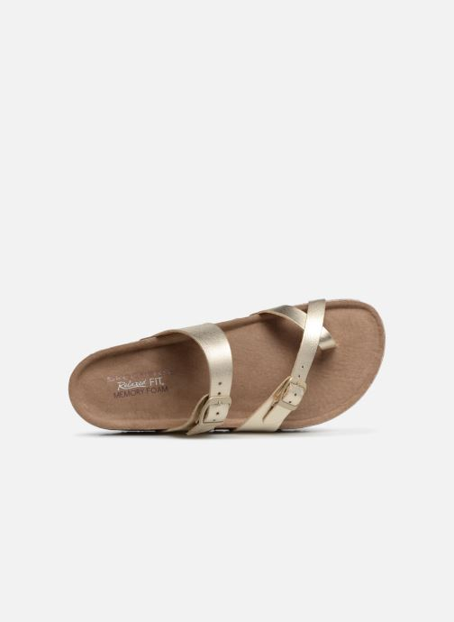 Sandales et nu-pieds Skechers Granola Hippie Sole Or et bronze vue gauche