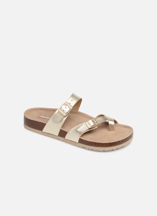 Sandales et nu-pieds Skechers Granola Hippie Sole Or et bronze vue détail/paire