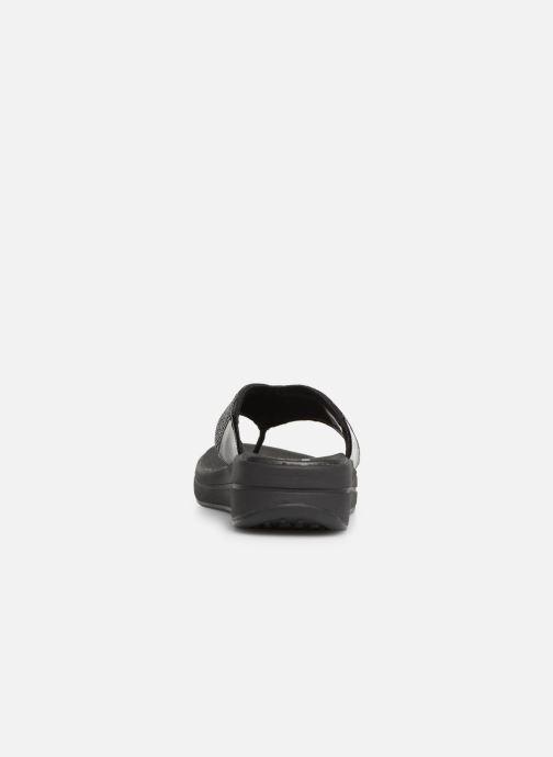Zuecos Skechers Upgrades Negro vista lateral derecha