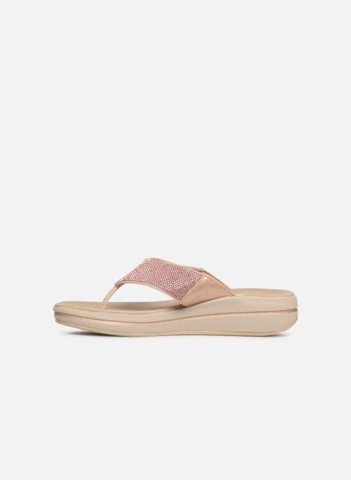 Clogs & Pantoletten Skechers Upgrades rosa ansicht von vorne