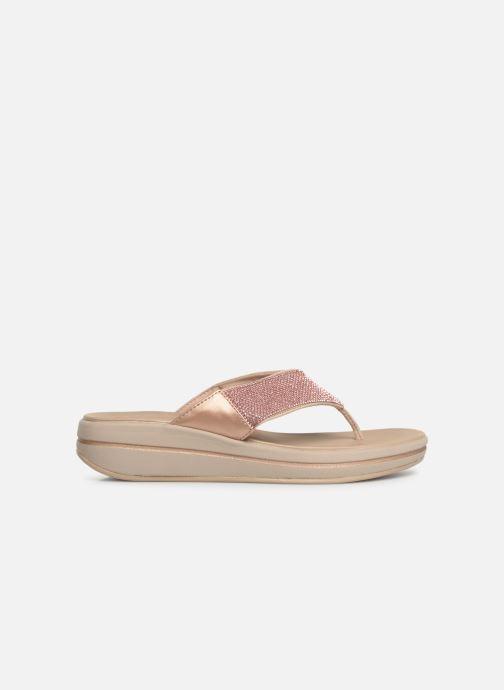 Clogs & Pantoletten Skechers Upgrades rosa ansicht von hinten