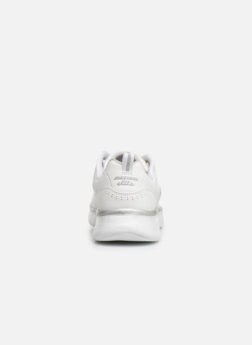 Deportivas Skechers Synergy 3.0 Blanco vista lateral derecha