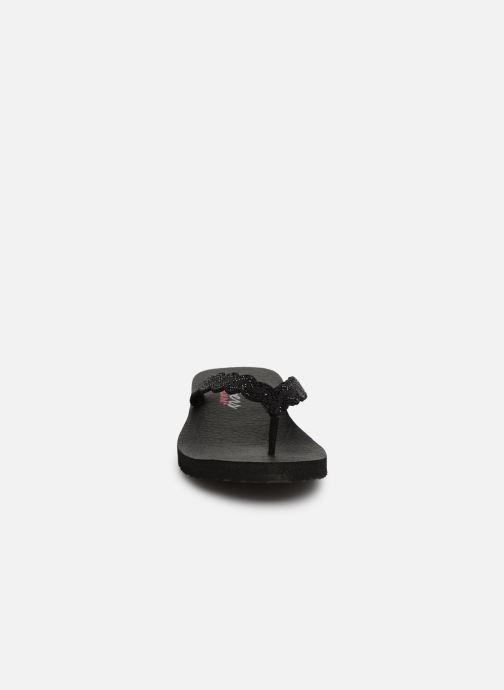 Slippers Skechers Meditation Glam Gladiator Zwart model