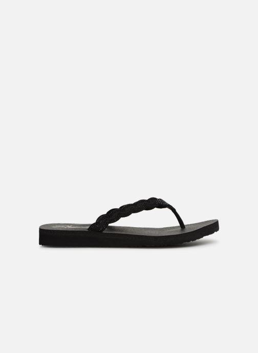 Slippers Skechers Meditation Glam Gladiator Zwart achterkant