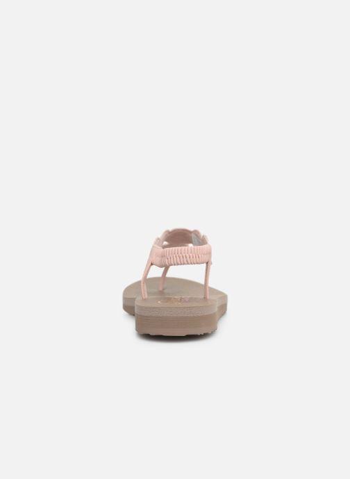 Sandalen Skechers Mediatation Stars & Sparkle rosa ansicht von rechts