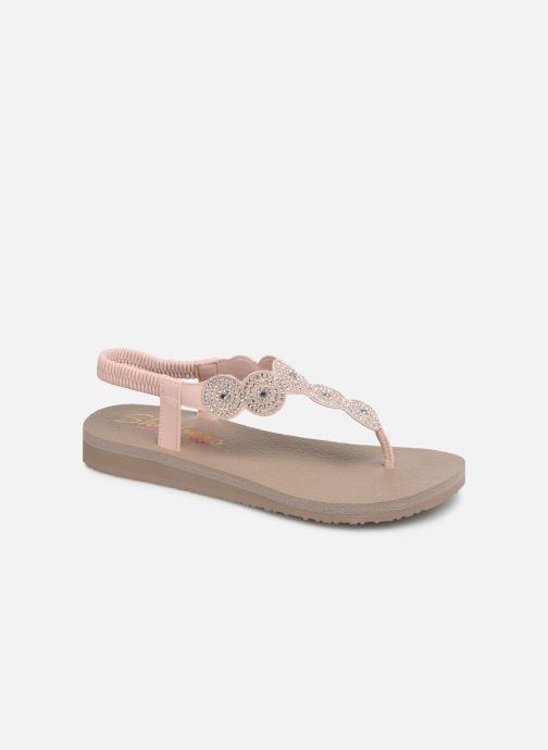 Sandales et nu-pieds Skechers Mediatation Stars & Sparkle Rose vue détail/paire