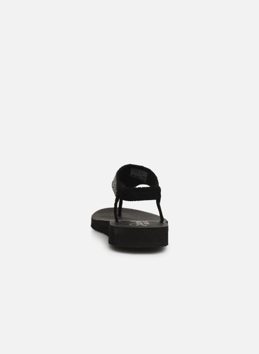 Sandals Skechers Maditation Gypsy Glam Black view from the right