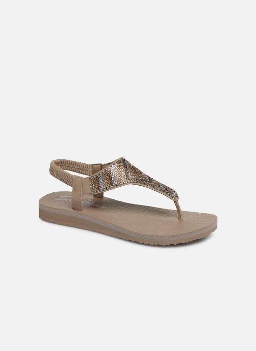 Sandales et nu-pieds Skechers Maditation Gypsy Glam Gris vue détail/paire