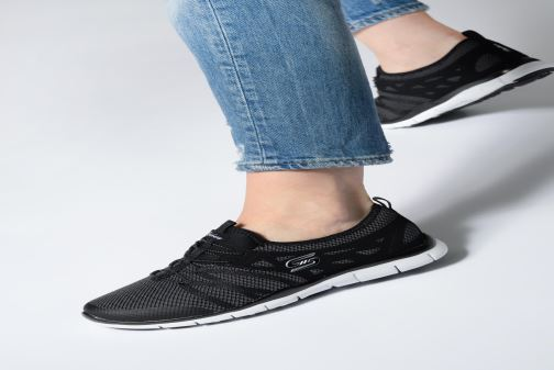 Sneakers Skechers Gratis What A sight Nero immagine dal basso