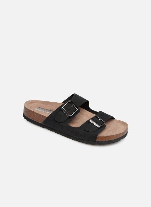 Clogs og træsko Skechers Granola Fresh Spirit Sort detaljeret billede af skoene