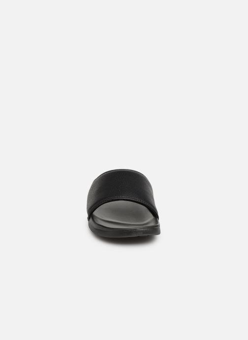 Sandalen Skechers Gambix schwarz schuhe getragen