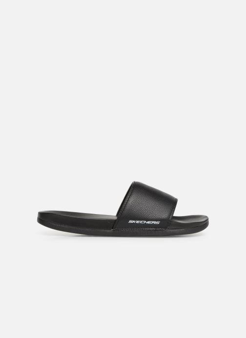 Sandalen Skechers Gambix schwarz ansicht von hinten