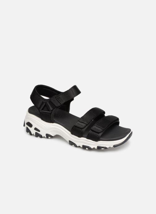 Sandales et nu-pieds Skechers D'Lites Fresh Catch Noir vue détail/paire