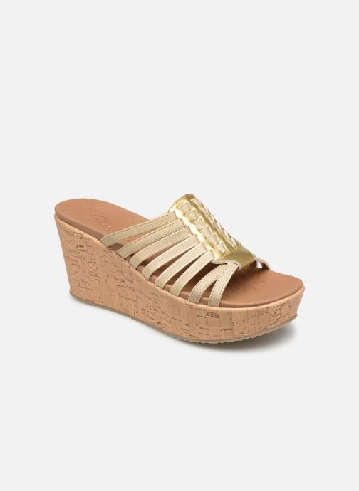 Wedges Skechers Brit Girl Wonder Goud en brons detail