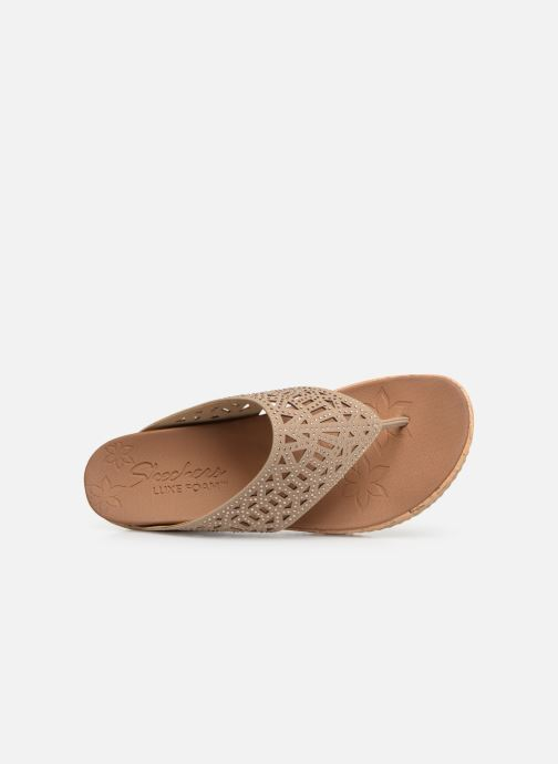 Wedges Skechers Beverlee Summer Visit Beige links