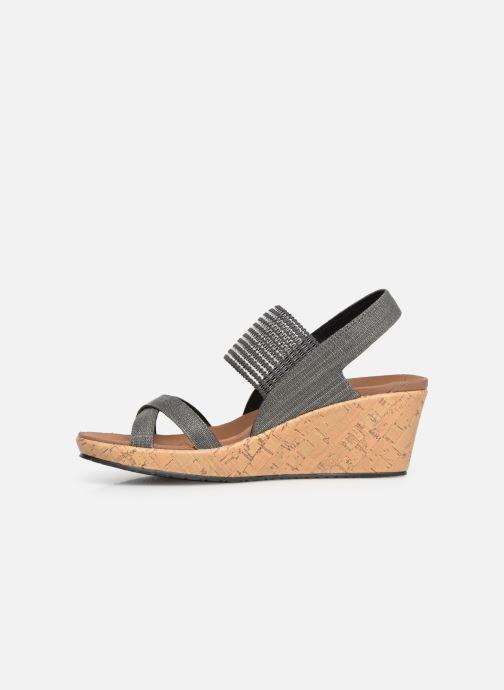 Sandales et nu-pieds Skechers Beverlee High Tea Gris vue face