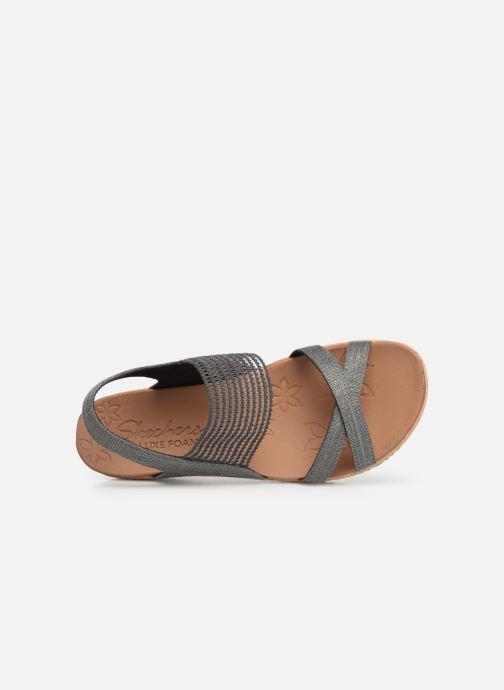 Sandales et nu-pieds Skechers Beverlee High Tea Gris vue gauche