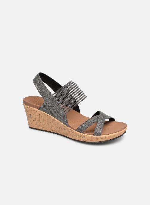 Sandales et nu-pieds Skechers Beverlee High Tea Gris vue détail/paire
