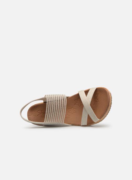 Sandales et nu-pieds Skechers Beverlee High Tea Blanc vue gauche