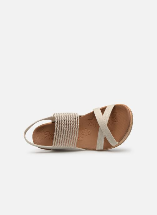 Sandali e scarpe aperte Skechers Beverlee High Tea Bianco immagine sinistra