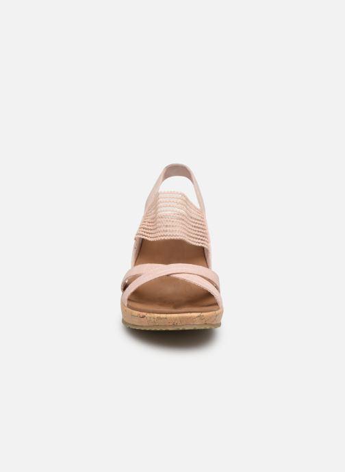 Sandaler Skechers Beverlee High Tea Rosa bild av skorna på