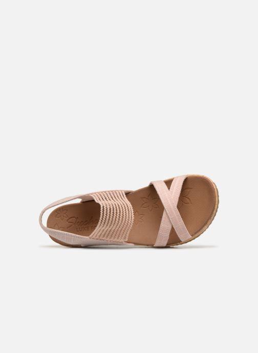 Sandaler Skechers Beverlee High Tea Rosa bild från vänster sidan