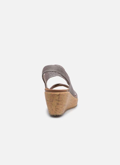 Sandali e scarpe aperte Skechers Beverlee High Tea Argento immagine destra