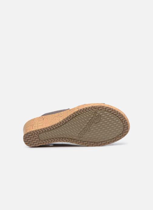 Sandali e scarpe aperte Skechers Beverlee High Tea Argento immagine dall'alto