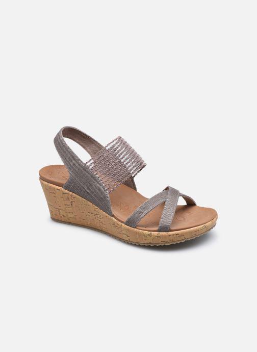 Sandali e scarpe aperte Skechers Beverlee High Tea Argento vedi dettaglio/paio
