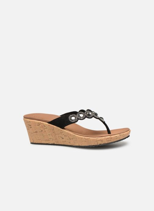Sandales et nu-pieds Skechers Beverlee Noir vue derrière