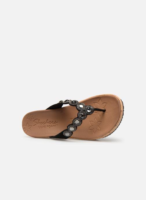 Sandales et nu-pieds Skechers Beverlee Noir vue gauche
