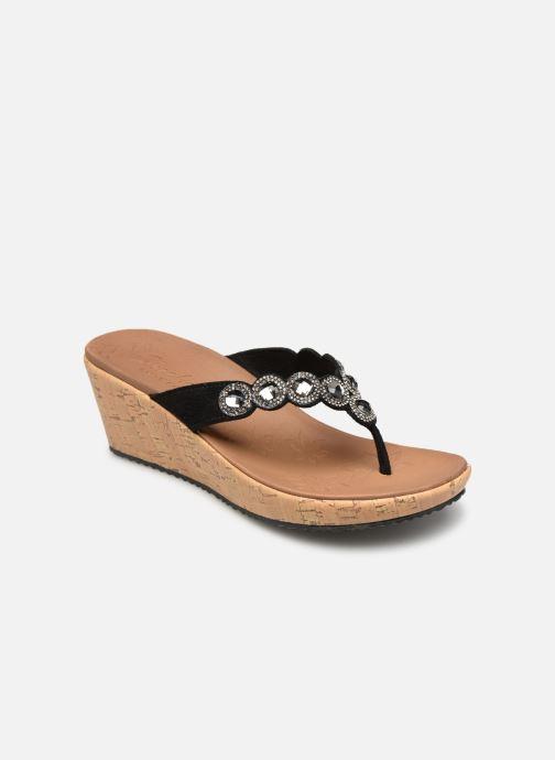 Sandales et nu-pieds Skechers Beverlee Noir vue détail/paire