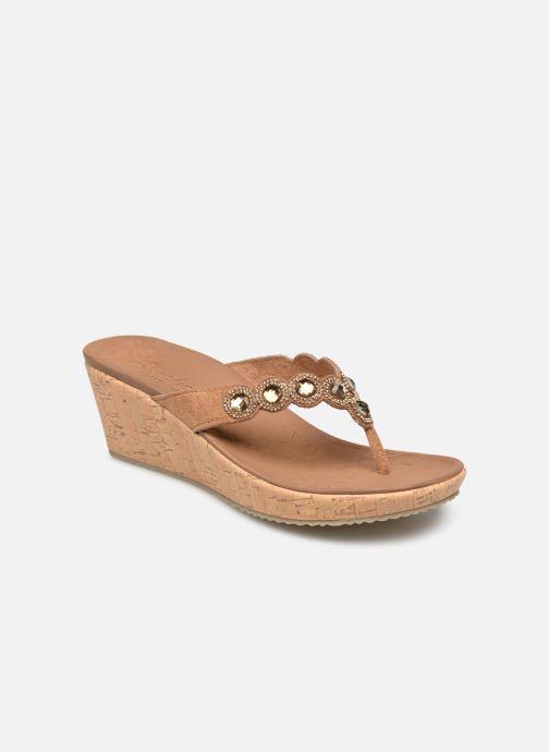 Sandales et nu-pieds Skechers Beverlee Marron vue détail/paire
