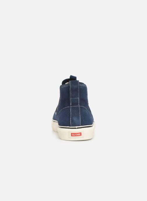 Trainers Globe Dover Blue view from the right