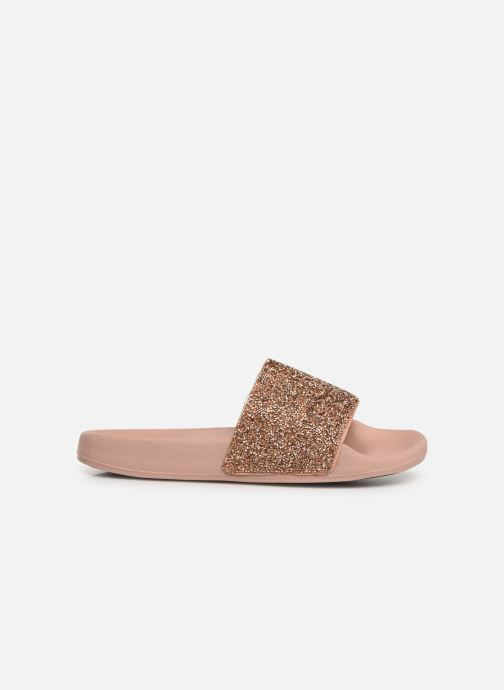 Mules & clogs Skechers Pop Ups Pink back view