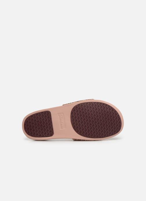 Mules & clogs Skechers Pop Ups Pink view from above