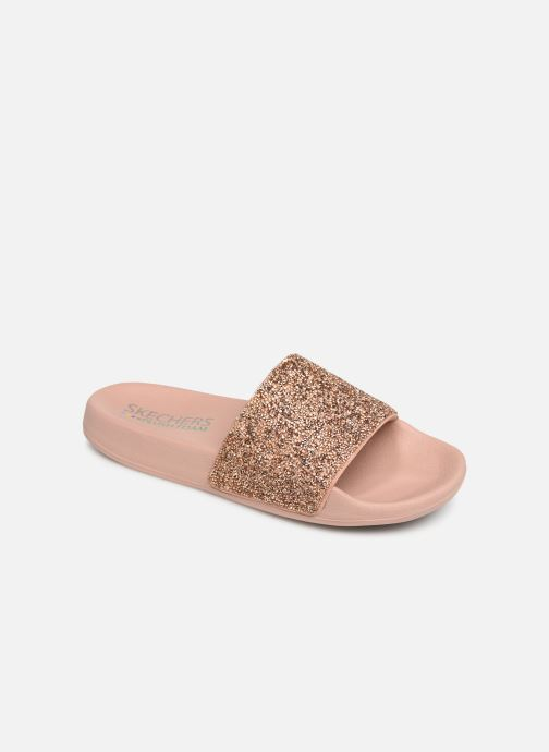 Mules & clogs Skechers Pop Ups Pink detailed view/ Pair view