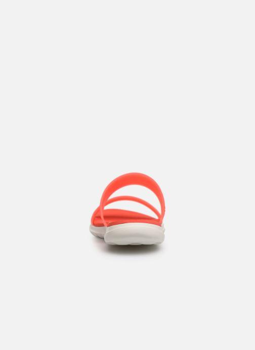 Mules et sabots Skechers Nextwave Ultra Sun-Kissed Orange vue droite