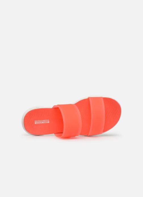 Mules et sabots Skechers Nextwave Ultra Sun-Kissed Orange vue gauche