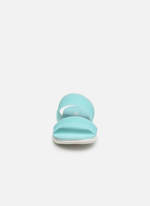 Clogs & Pantoletten Skechers Nextwave Ultra Sun-Kissed blau schuhe getragen