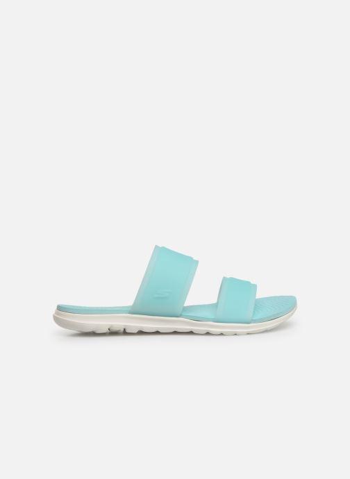 Clogs & Pantoletten Skechers Nextwave Ultra Sun-Kissed blau ansicht von hinten
